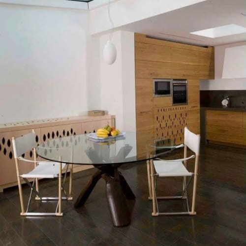 Tables by Manifesto Design at Private Residence - Africa Table and Regista Chair