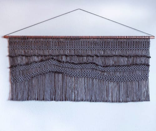 Amafiberart - Macrame Wall Hanging and Art