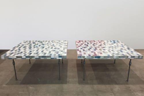 Tables by Ercole seen at Hilton Brooklyn New York, Brooklyn - Custom Coffee Tables