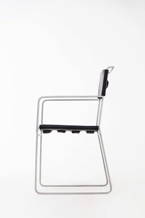 Chairs by 1Nayef Francis seen at Nayef Francis Design Studio, Beirut - Wire chair