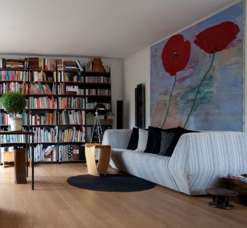 Paintings by Ulla Lundsgart seen at Private Residence, Trustrup - Painting