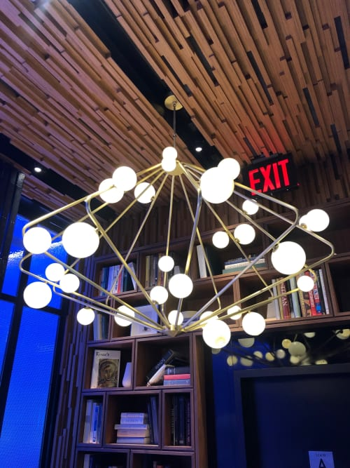 Chandeliers by Wonderwall/Masamichi Katayama seen at Intersect by Lexus, New York - Modern Chandelier
