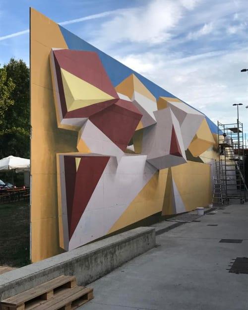 Street Murals by Peeta seen at Bread & Butter, Venice - Bread & Butter - Parco Catene Mural