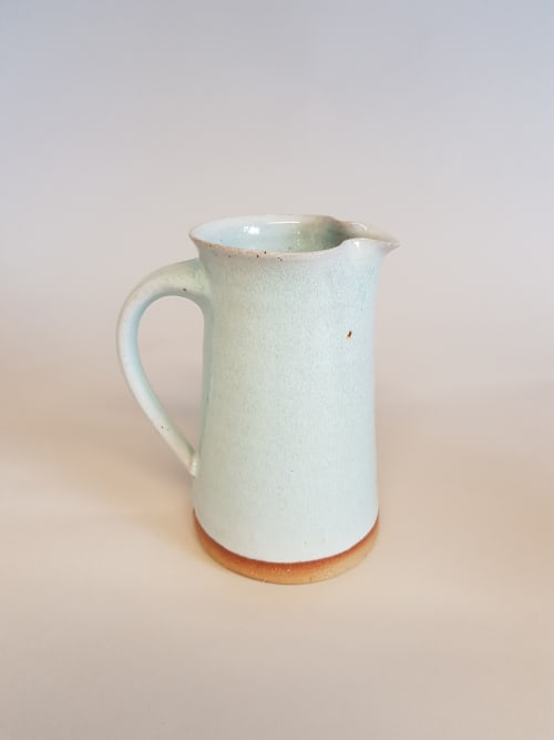 Vases & Vessels by Amanda Brier Ceramics seen at Private Residence, Falmouth - Blue Jug