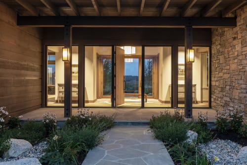 Architecture by CLB Architects seen at Private Residence, Jackson - Cascade