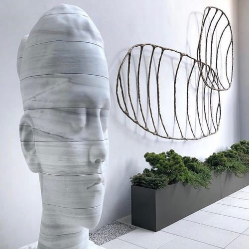 Sculptures by Steven Haulenbeek Studio seen at Private Residence, Chicago - Fishbone Objects