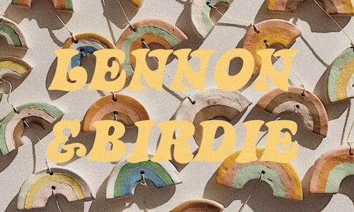 LENNON+BIRDIE - Paintings and Wall Hangings