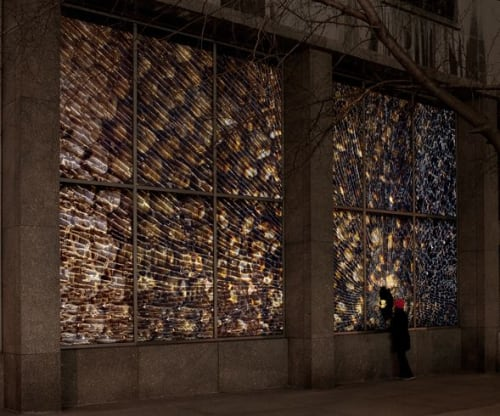 """Architecture by Jo Yarrington seen at 53rd Street Library, New York - """"Oh, Pooh..., 2011"""""""