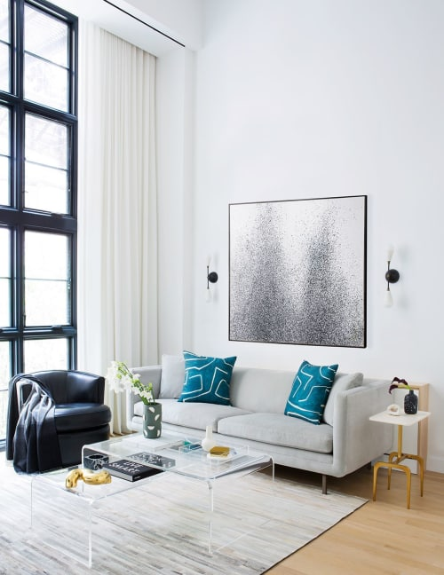 Interior Design by Matthew Cane Designs at Private Residence, New York - A Modern Triplex in Greenwich Village