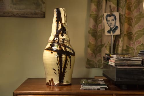 Vases & Vessels by Dylan Bowen seen at Private Residence - Turned & altered vessel