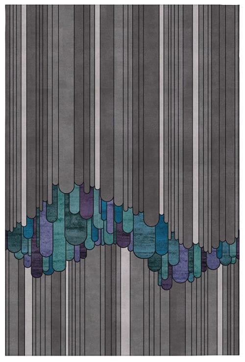 Rugs by Lucy Tupu Studio - Tui Iti - Rug