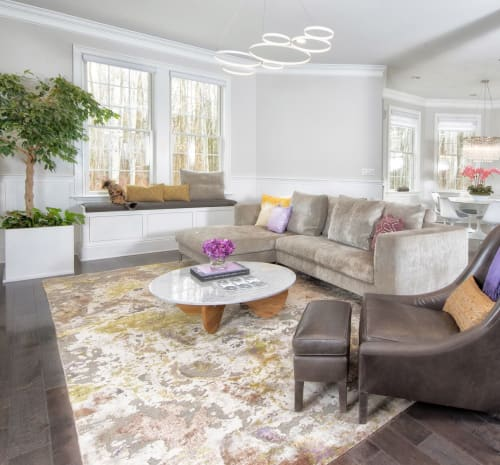 Rugs by WOVEN CONCEPTS seen at Private Residence, Rye - Slayton (Eris)