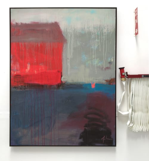 Paintings by Andrew Faulkner seen at ICB Artists, Sausalito - Firehouse