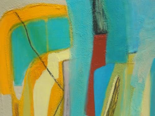 Paintings by Danielle Nelisse seen at Kihei Studio, Kihei - Uptake Painting