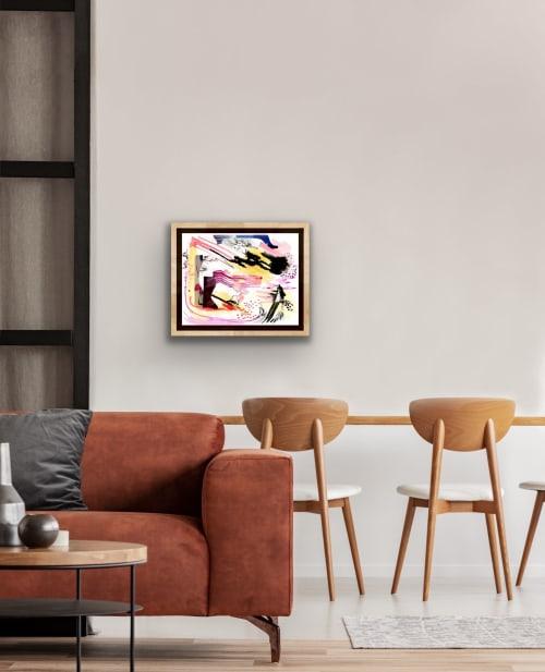 Paintings by K'era Morgan seen at Creator's Studio, Los Angeles - Last but not Least