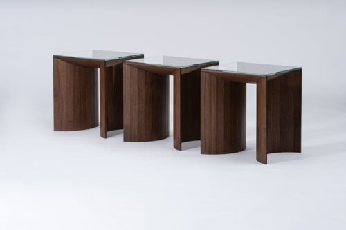 Tables by Reed Hansuld seen at Private Residence, Los Angeles - End Table No. 5