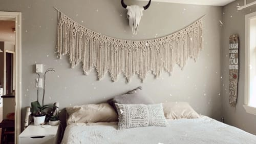 Macrame Wall Hanging by LoveCraft Collective seen at Private Residence, Pemberton - Macrame Wall Hanging