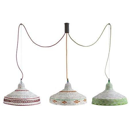 Lighting Design by Pet Lamp by Alvaro Catalan de Ocon seen at Verde y Chile, Sant Cugat del Vallès - Pet Lamp Chile Mapuche