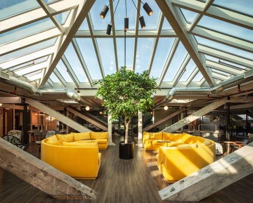 Interior Design by hansenbuilt design seen at KWENCH, Victoria - KWENCH work + culture club