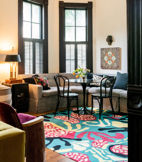 Rugs by Paige Russell, ELOI seen at Private Residence, Los Angeles - Rug Design
