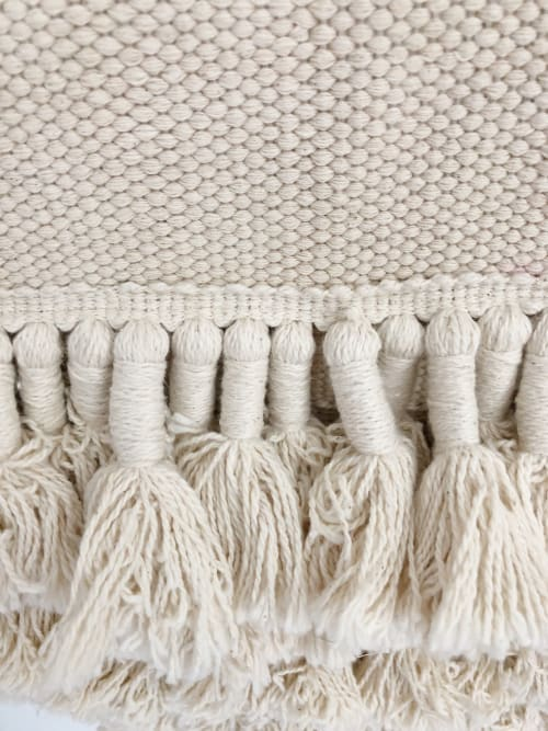 Wall Hangings by Coastal Boho Studio seen at Creator's Studio, Destin - Galia Handwoven Wall Hanging - Cotton