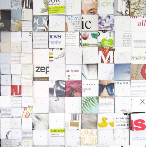 Wall Hangings by Paola Bazz seen at Private Residence, Cagliari - Specular Identity #4 - 3d collage