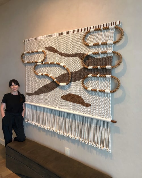 Wall Hangings by Yerbamala Designs seen at 1000 Museum Sales Office, Miami - Modules Series #3