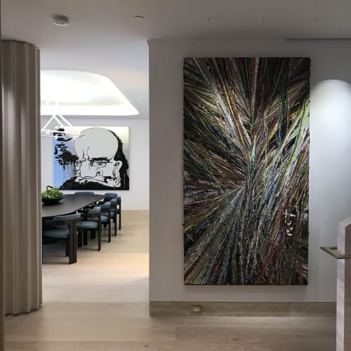 Interior Design by KKM DESIGN GROUP, INC seen at Private Residence, Miami - MIAMI