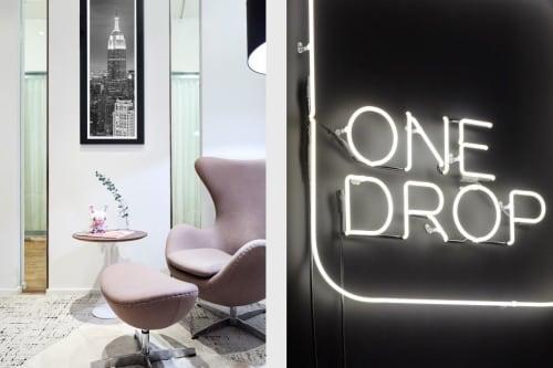 Interior Design by Michala Monroe seen at New York, New York - OneDrop HQ