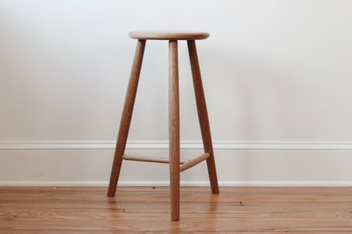Chairs by North Summit Studio seen at Private Residence, New York - Counter Height 3 Legged Stool