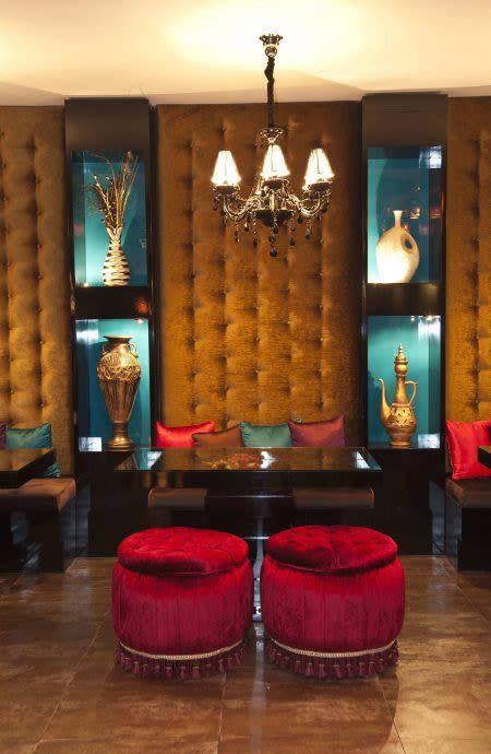 Interior Design by Alireza Shafieitabar seen at DiziBar Persian Cuisine, Tehran - Moroccan DiziBar