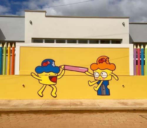 Bolinho - Street Murals and Murals