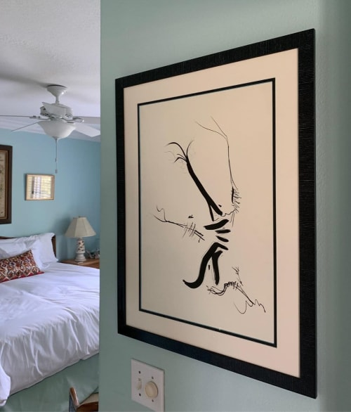 Paintings by Leroy Miranda Jr seen at Private Residence, New Orleans - Abstract Art