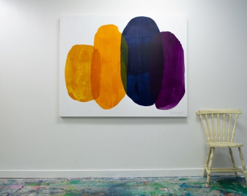 Paintings by Claire Desjardins seen at Creator's Studio, Gore - Larger Than Life 05