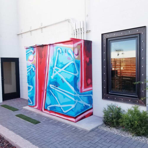 Murals by Jerry Misko seen at Faciliteq Las Vegas, Las Vegas - Wall Mural