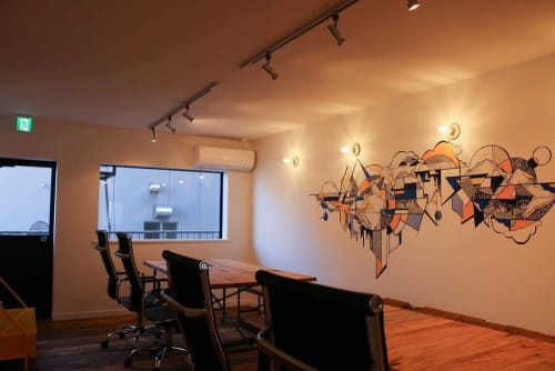 Olivia Obrecht - Murals and Paintings