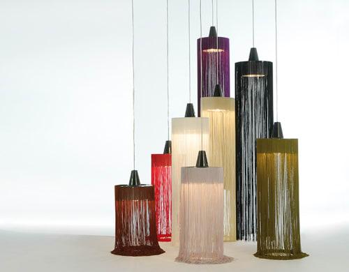 Lamps by Fambuena seen at Hôtel Oceania Hôtel de France, Nantes - Swing lamps
