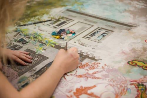 Deborah Mckellar – Talking Textiles - Paintings and Pillows