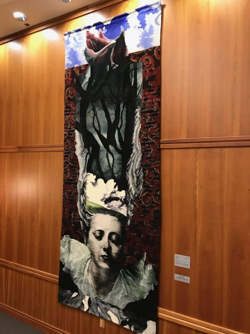 Wall Hangings by Shelley Socolofsky seen at Western Oregon University, Monmouth - Soliloquy