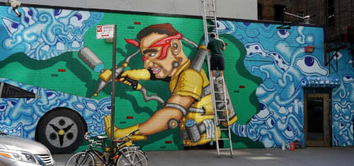 Andy Golub - Street Murals and Public Art