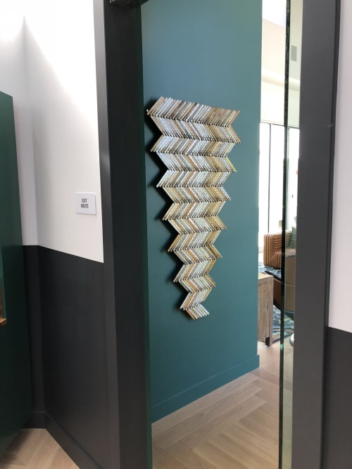 Art & Wall Decor by Clint Imboden seen at Park Place Apartments, Mountain View - Measure, Wall Installation