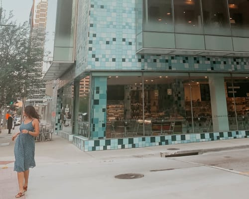 Public Mosaics by Jorge Pardo Sculpture seen at Commissary, Dallas - Commissary Tiles