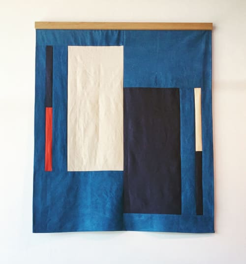 Studies In Fiber | Wall Hangings by Hallie Brewer | Helm Boots in Austin