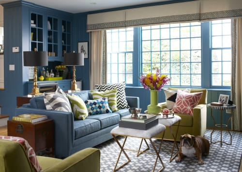 Interior Design by Liz Caan & Co. at Rockridge Road, Wellesley - Interior Design - Rockridge Road