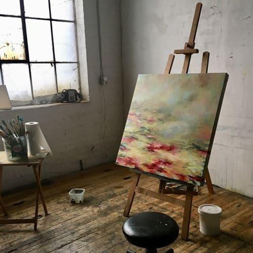 Art Curation by Lisa Hemeon Art seen at Private Residence, Toronto - Lisa Hemeon Art