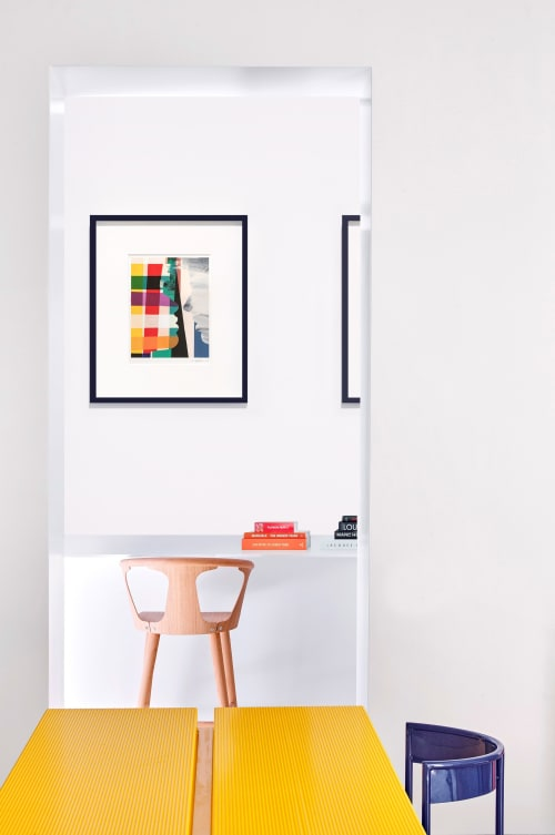 Paintings by Anca Stefanescu seen at London, London - In The Mood For Love, No 7