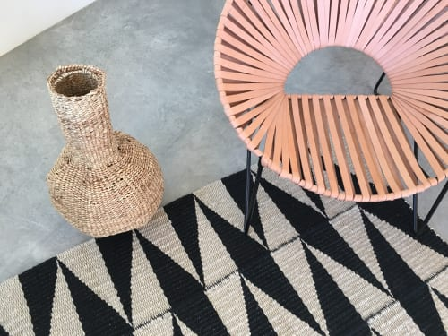 Wall Hangings by TANU handwoven textiles at Private Residence, Santa Fe - <v>