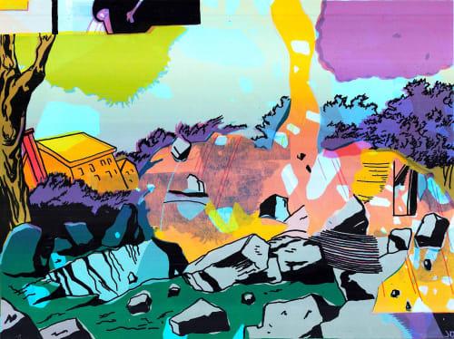 JD Deardourff - Murals and Street Murals