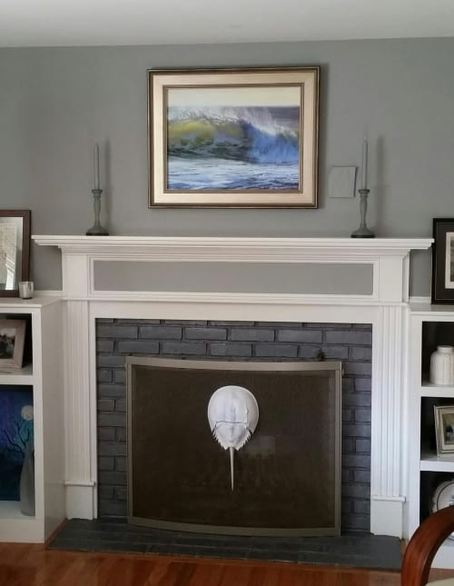 Paintings by Jeanne Rosier Smith Fine Art seen at Private Residence - Exhale