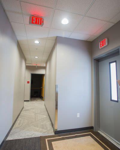 Lighting by TK Lighting seen at Orthopedic Specialty Institute, Coeur d'Alene - Hallway Lighting